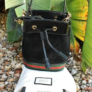 NEW GUCCI Ophidia Small Bucket Bag